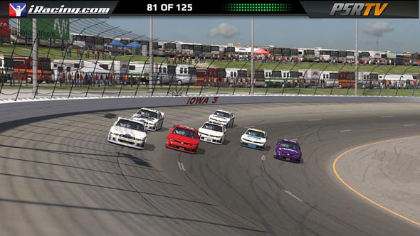 live esport video streaming iracing nascar series