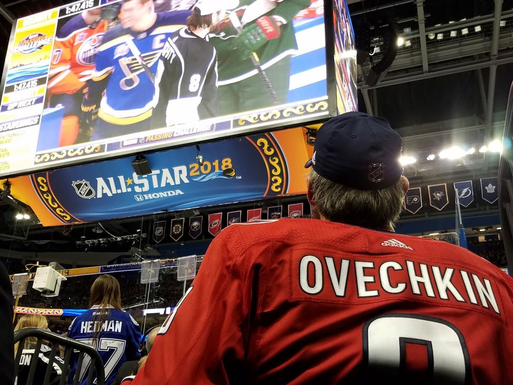 nhl all star game 2018 ovechkin