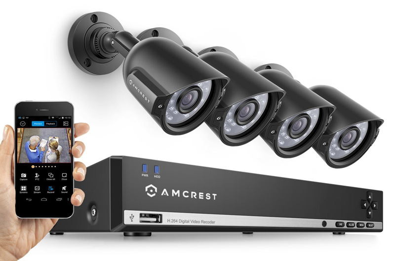 IP security camera system